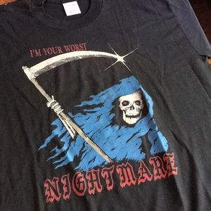 Vintage 1990s Worst Nightmare Reaper Shirt